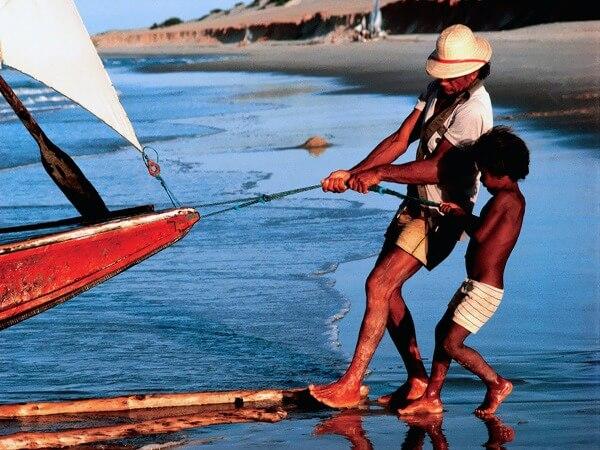 Canoa quebrada zon en surfvakantie in brazili for Fisher fish chicken indianapolis in